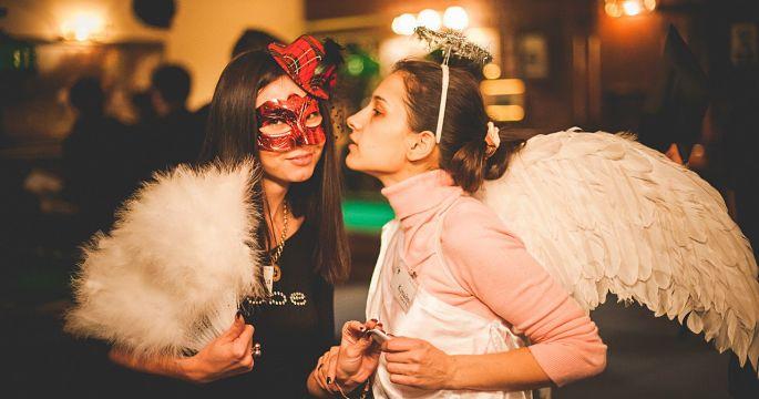 Ангельские создания на квестории Тайны Венеции
